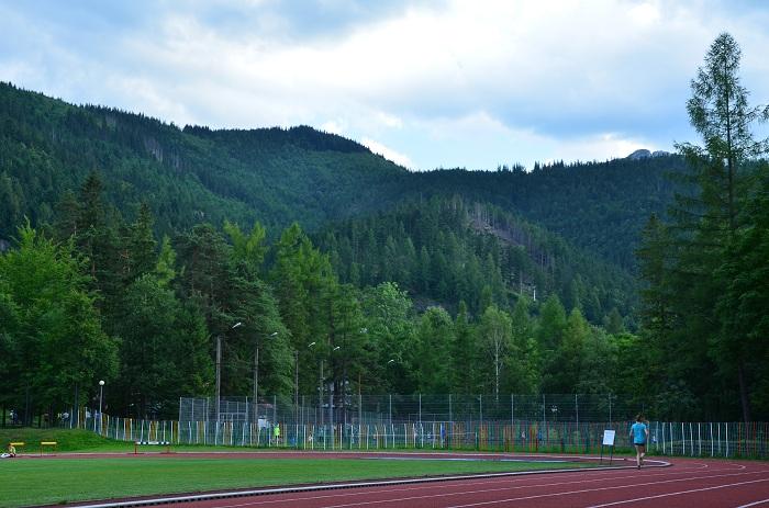 bieganie stadion