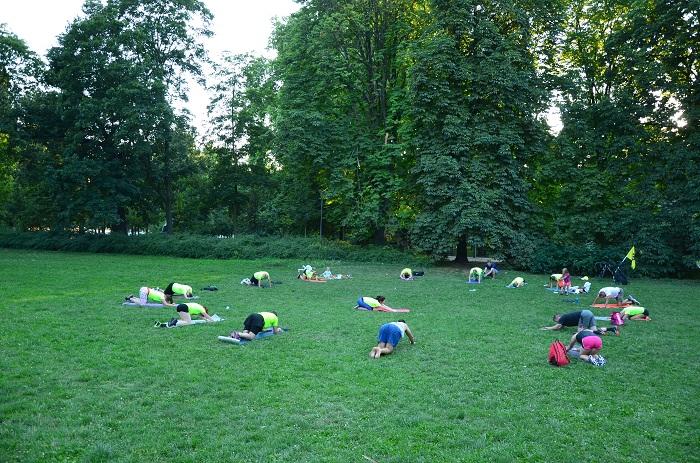 ćwiczenia stabilizujące w grupie