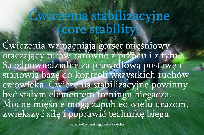 core stability bieganie uskrzydla