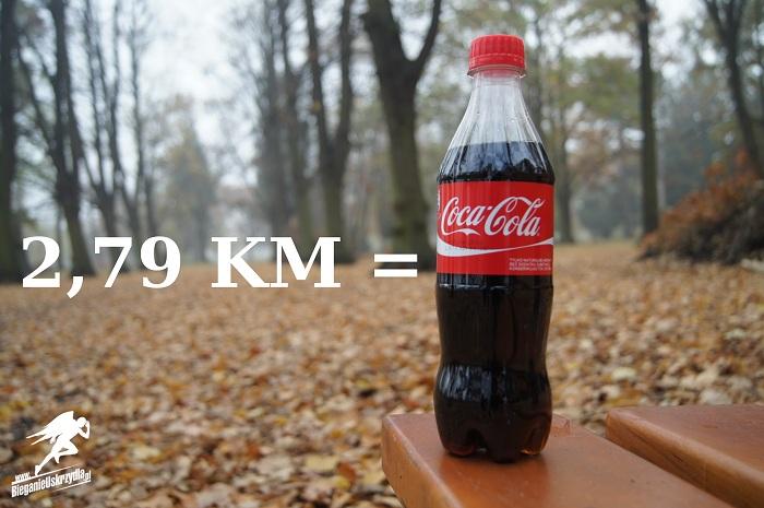 kalorie, bieganie, coca cola
