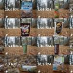 Produkty przeliczone na kilometry i kalorie