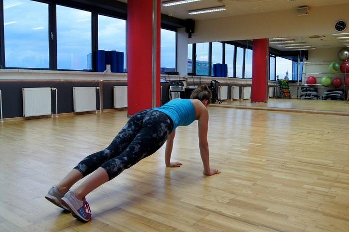 ćwiczenia plank