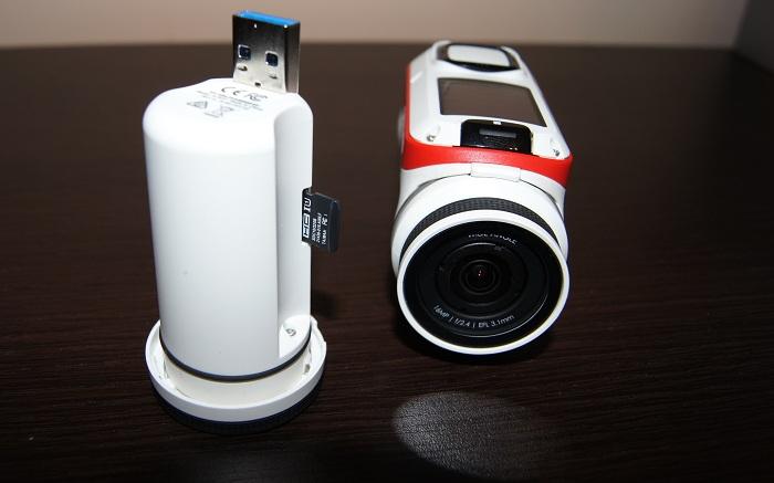 Kamera sportowa TomTom Bandit karta pamięci