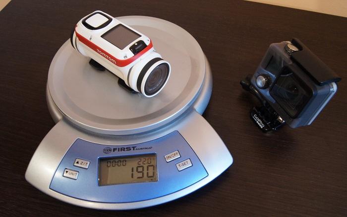 TomTom Bandit waga kamery sportowej