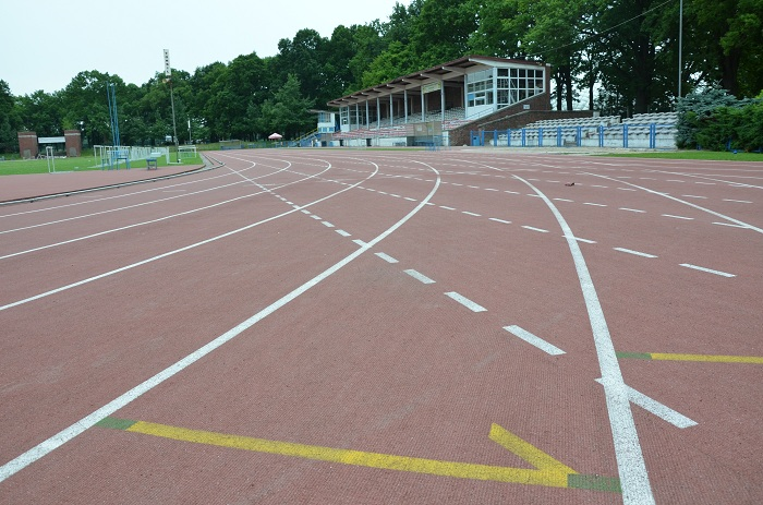 tartan stadion bieganie