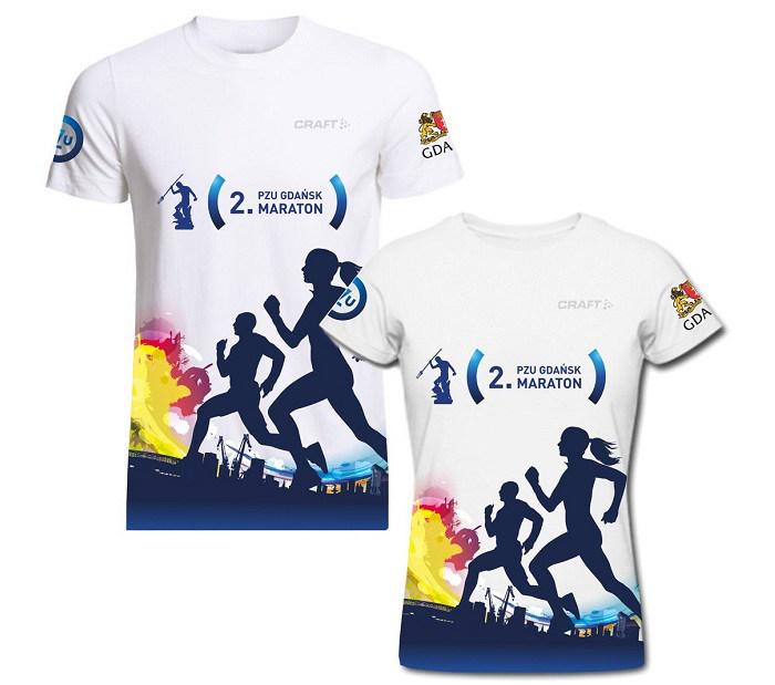 Gdańsk maraton koszulka