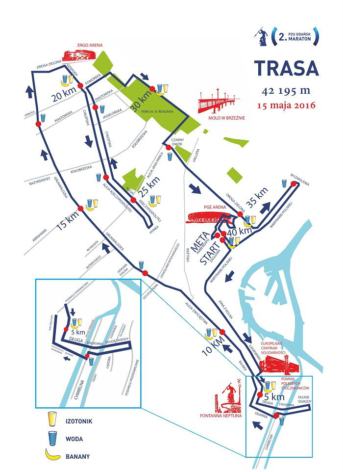 Gdańsk maraton trasa