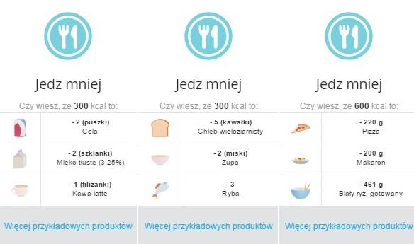 waga Polar Balance jedzenie
