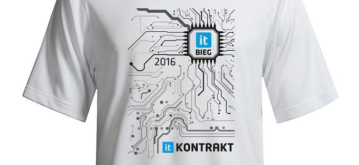 Bieg IT Warszawa koszulka