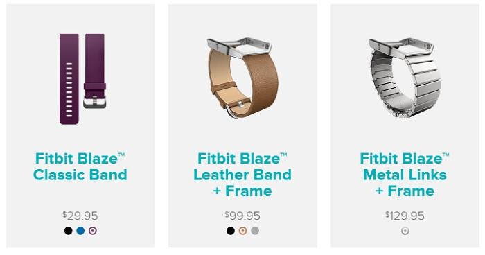 Fitbit Blaze akcesoria