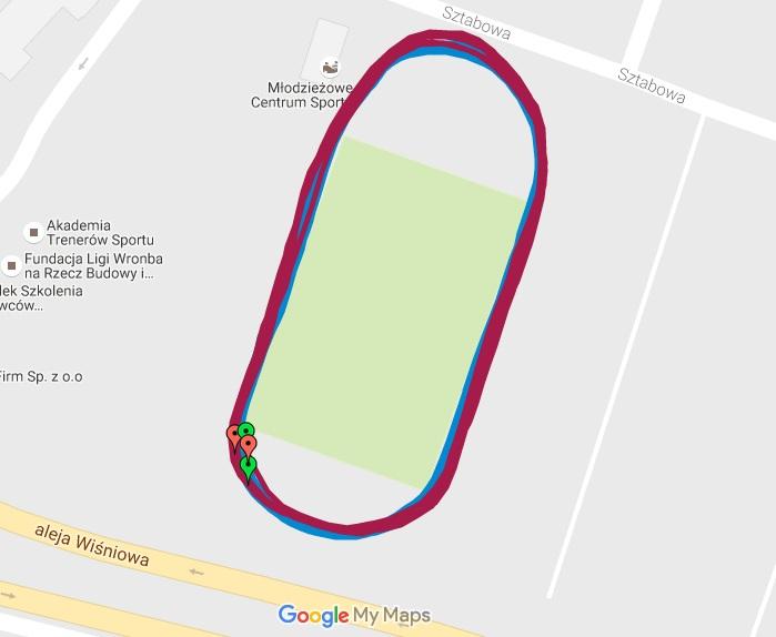Test na stadionie