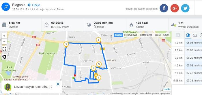 Runtastic - jakość GPS?