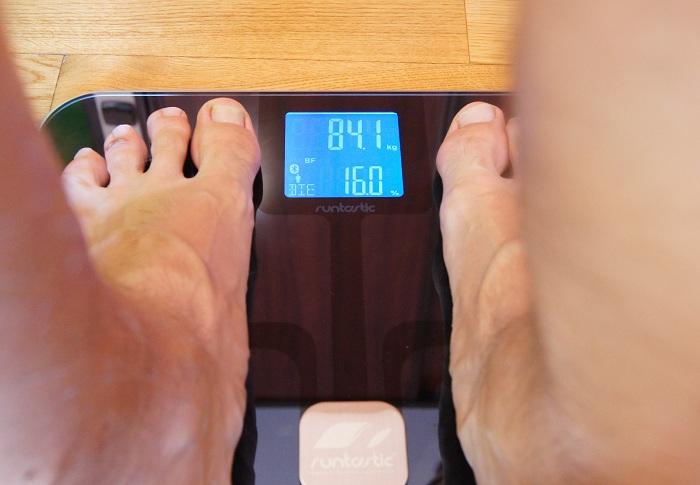 Runtastic Libra - pomiar tłuszczu