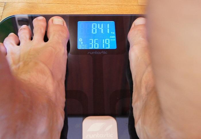 Runtastic Libra - kalorie łącznie