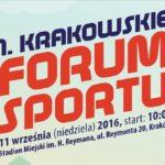 Już 11 września Krakowskie Forum Sportu