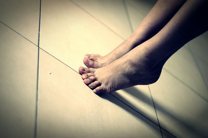 stopy biegacza