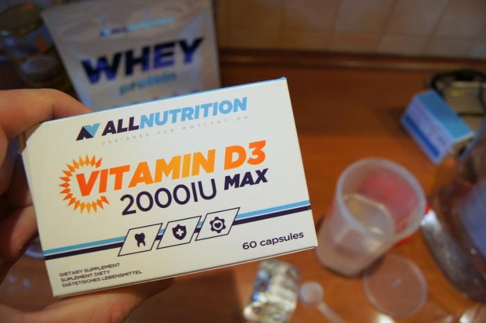 ALLNUTRITION vitaminum d3