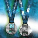 Kunsztownie wykonany medal 18.PKO Poznań Maratonu