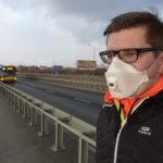 Czy maska antysmogowa chroni biegacza? Test półmaski 3M Aura 9322+