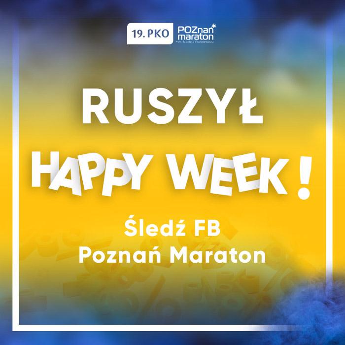 """Poznań Maraton 2018. Czwarty Dzień """"Happy Week"""