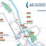 Maraton Warszawski 2018: informator drogowy [UTRUDNIENIA W RUCHU]