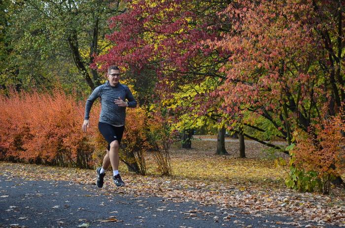 Odzież do biegania na jesień Compressport