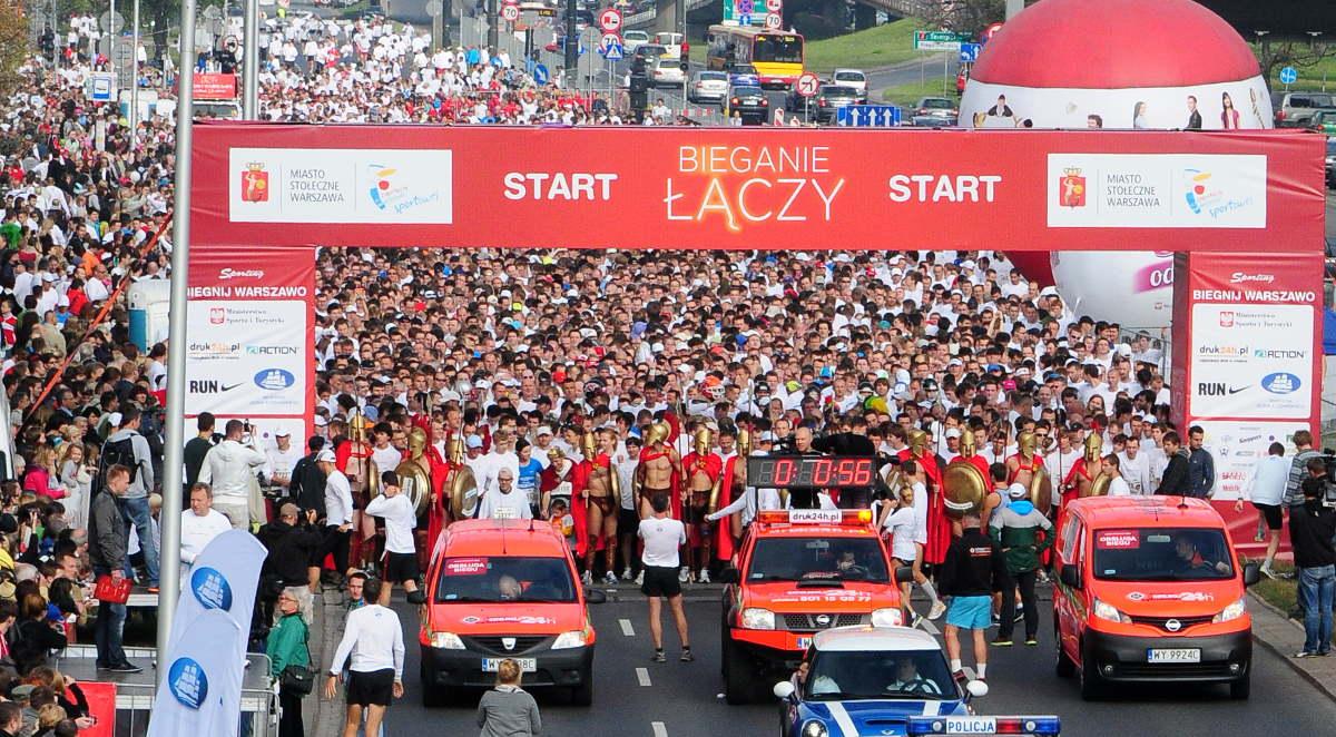 Biegnij Warszawo 2018 - świetne wyniki