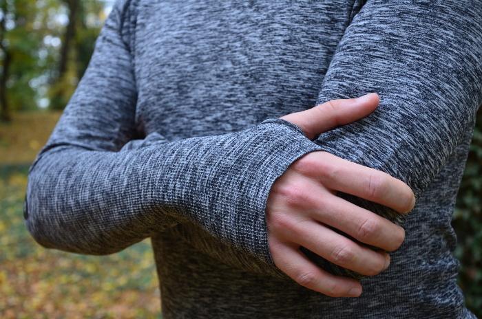 ciepła bluza do biegania