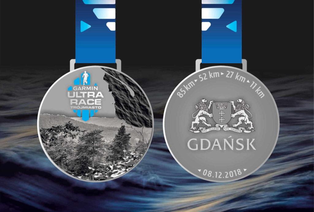 Garmin Ultra Race Trójmiasto 2018 medal