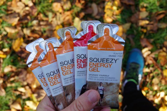 żele energetyczne dla biegaczy Squeezy