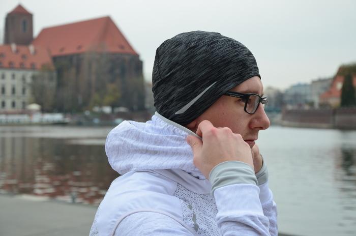 Bieganie w zimne dni - czapka
