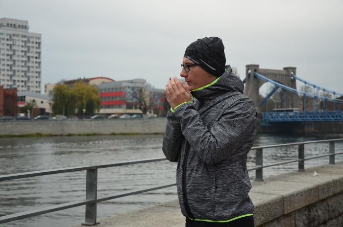 bieganie w zimne dni - jak kurtka