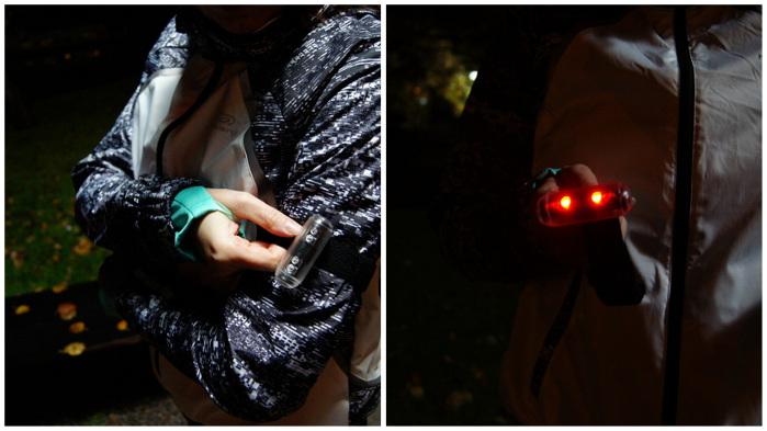 oświetlenie biegacza lampki