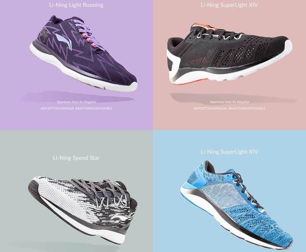 buty do biegania Li-Ning