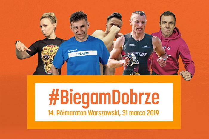 """14. Półmaraton Warszawski inspiruje do """"Walki na Dobro"""""""