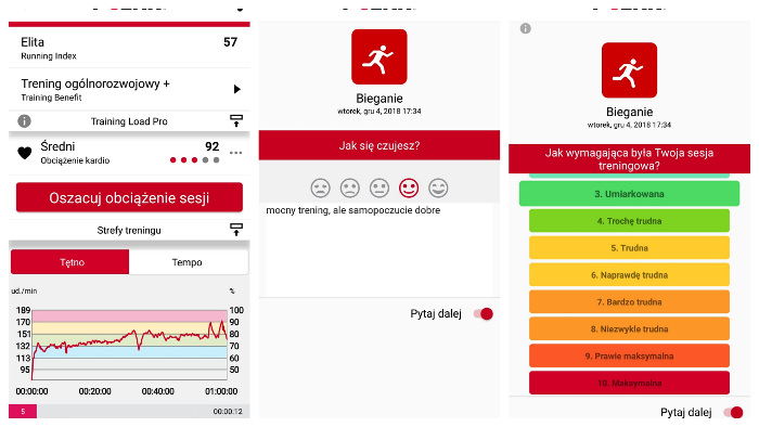 Polar Training Load Pro