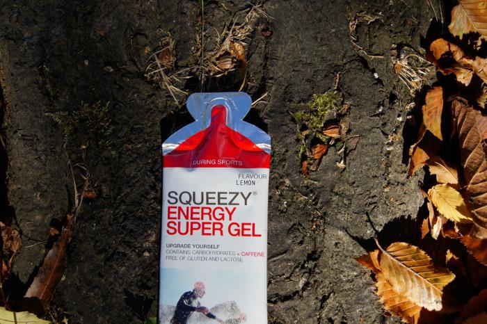 żel energetyczny Squeezy z kofeiną