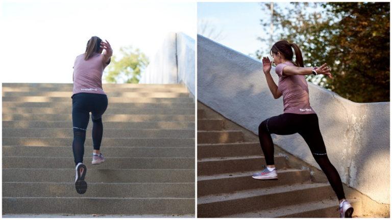 Bieganie po schodach - jak wykonać ten trening i co on daje
