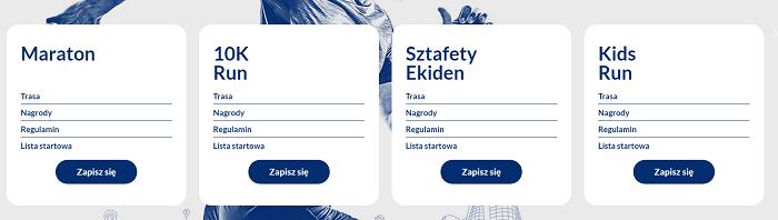 DOZ Maraton Łódź wszystkie dystanse na 2019 rok