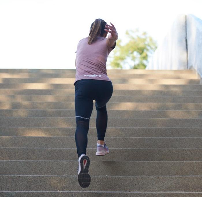 bieganie po schodach