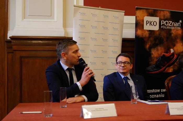 12. PKO Poznań Półmaraton konferencja