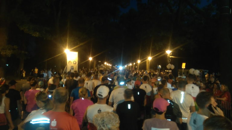 Nocny Wrocław Półmaraton 2018