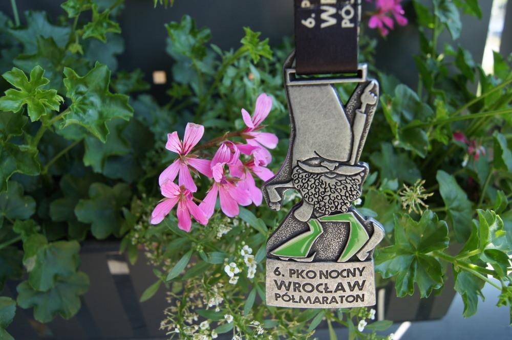 Półmaraton Wrocław medal 2018