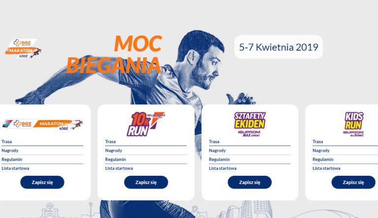 Maraton Łódź 2019 za 39 dni