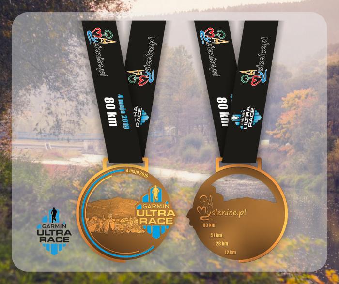 Garmin Ultra Race 2019 medal
