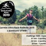 Garmin Ultra Race w Radkowie po raz czwarty z punktami do UTMB!