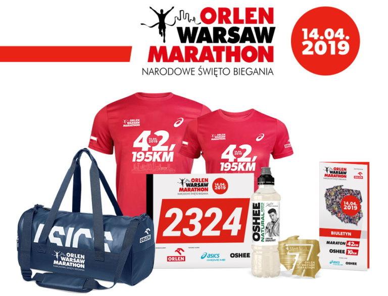 Orlen Warsaw Marathon 2019 pakiety startowe