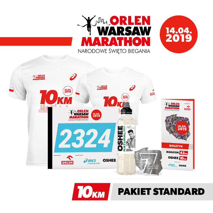 ORLEN Warsaw Marathon 2019 pakiety 10 km