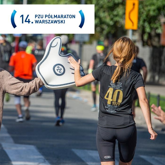 Półmaraton Warszawski 2019 sponsorem PZU