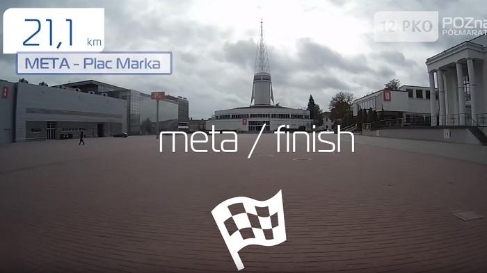 PKO Poznań Półmaraton trasa 2019